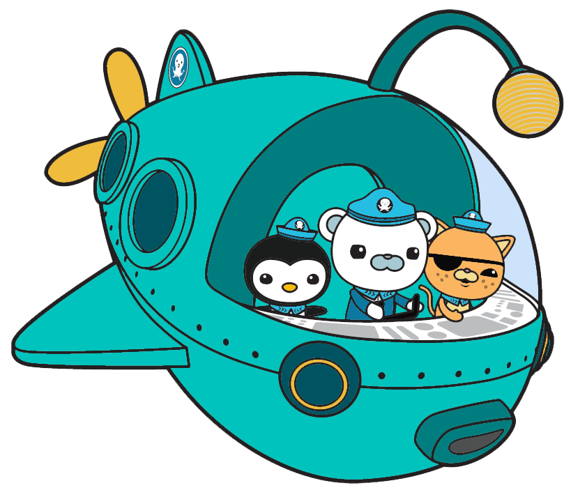 In gup a transparent. Manatee clipart octonauts