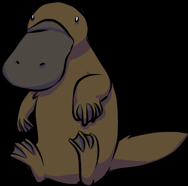Manatee clipart platypus. Forgetmenot animals publicat de