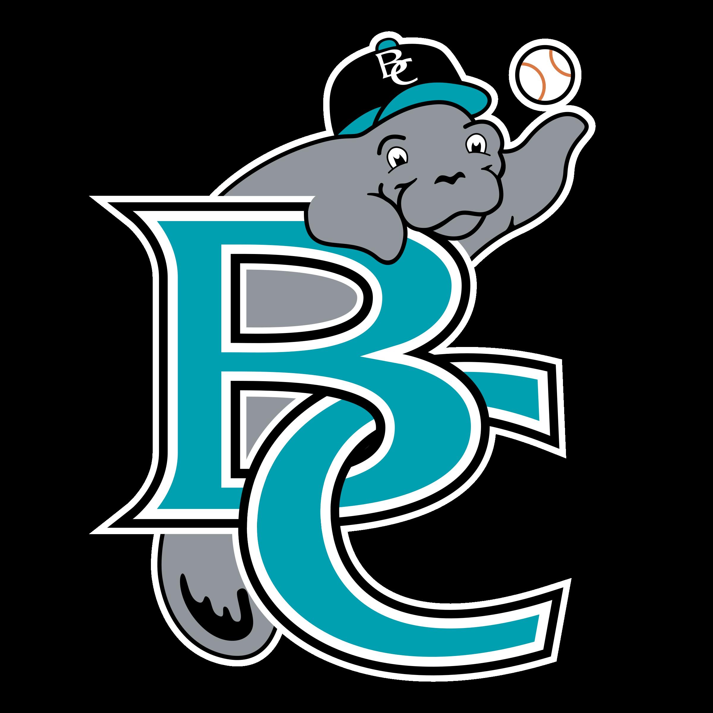 Brevard county manatees logo. Manatee clipart svg