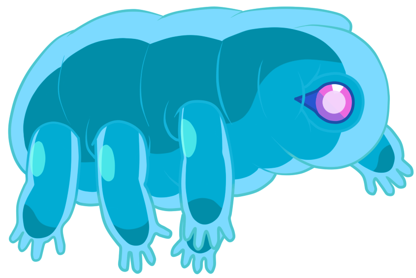 Manatee clipart tardigrade. Crystalgems wikia fandom powered