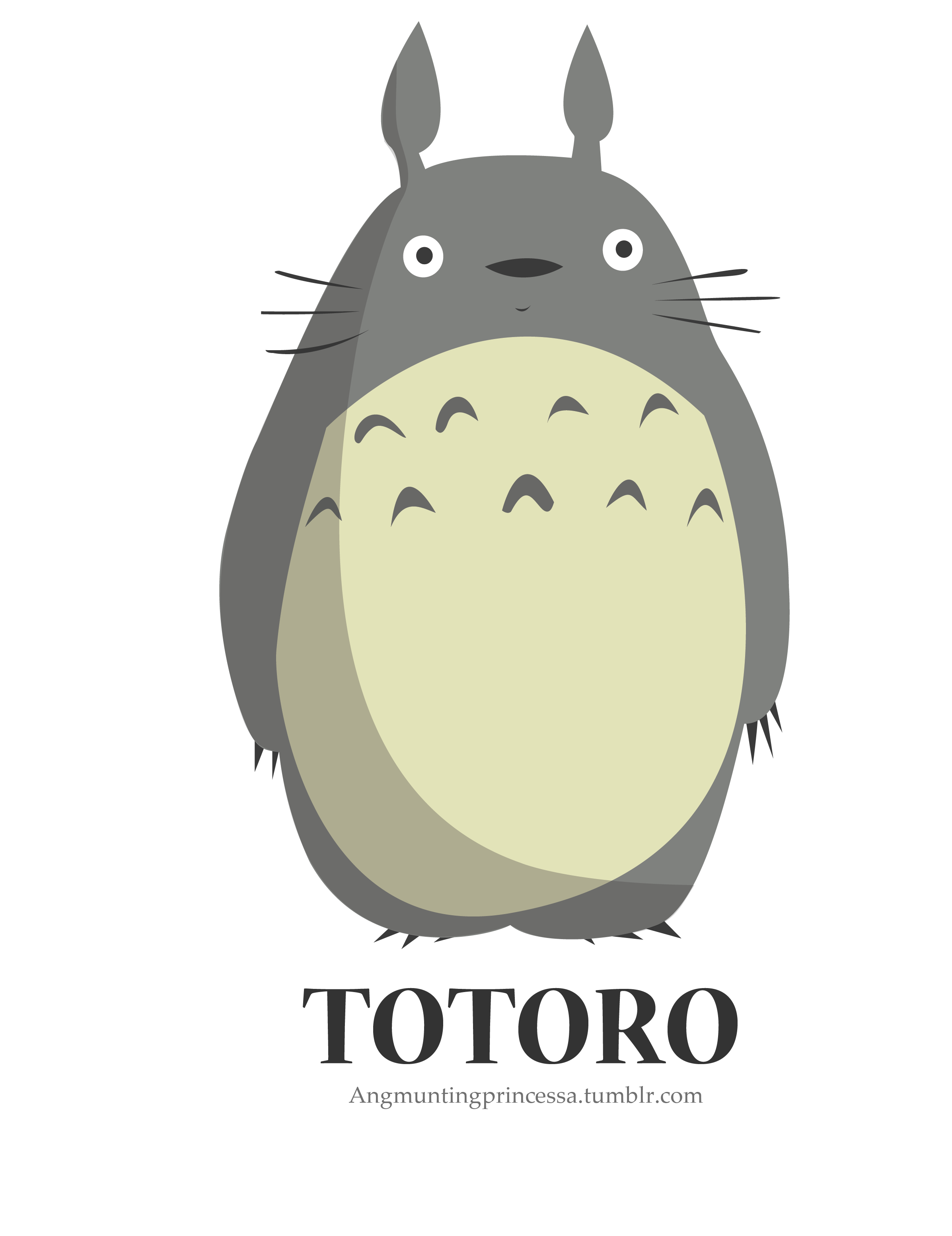 Manatee clipart vector. Totoro for keyan pinterest