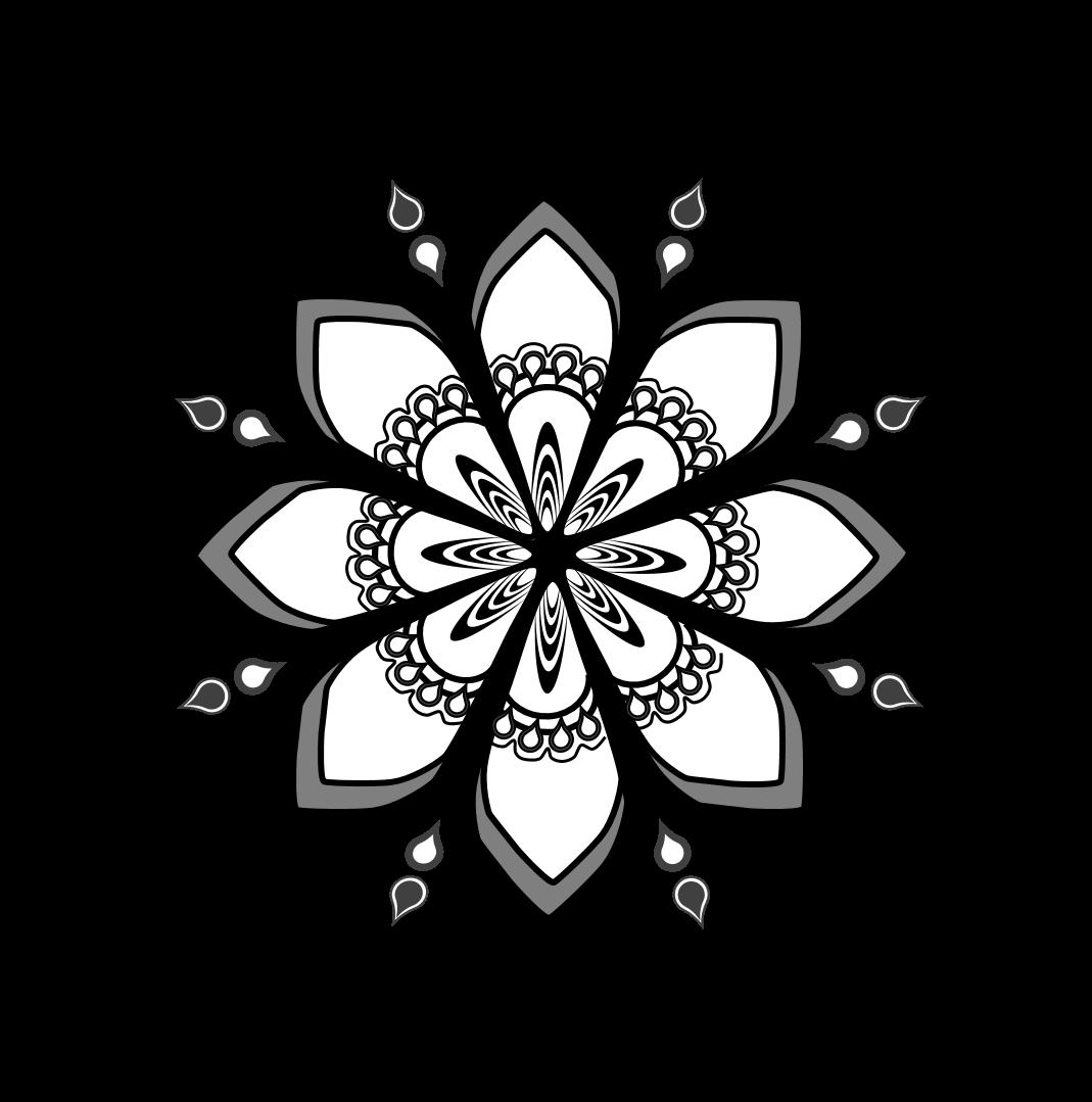 Free series rt everyday. Mandala clipart