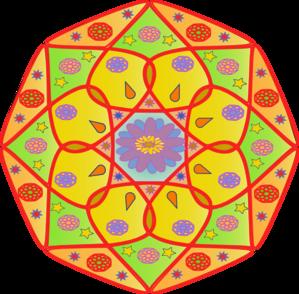 Clip art at clker. Mandala clipart