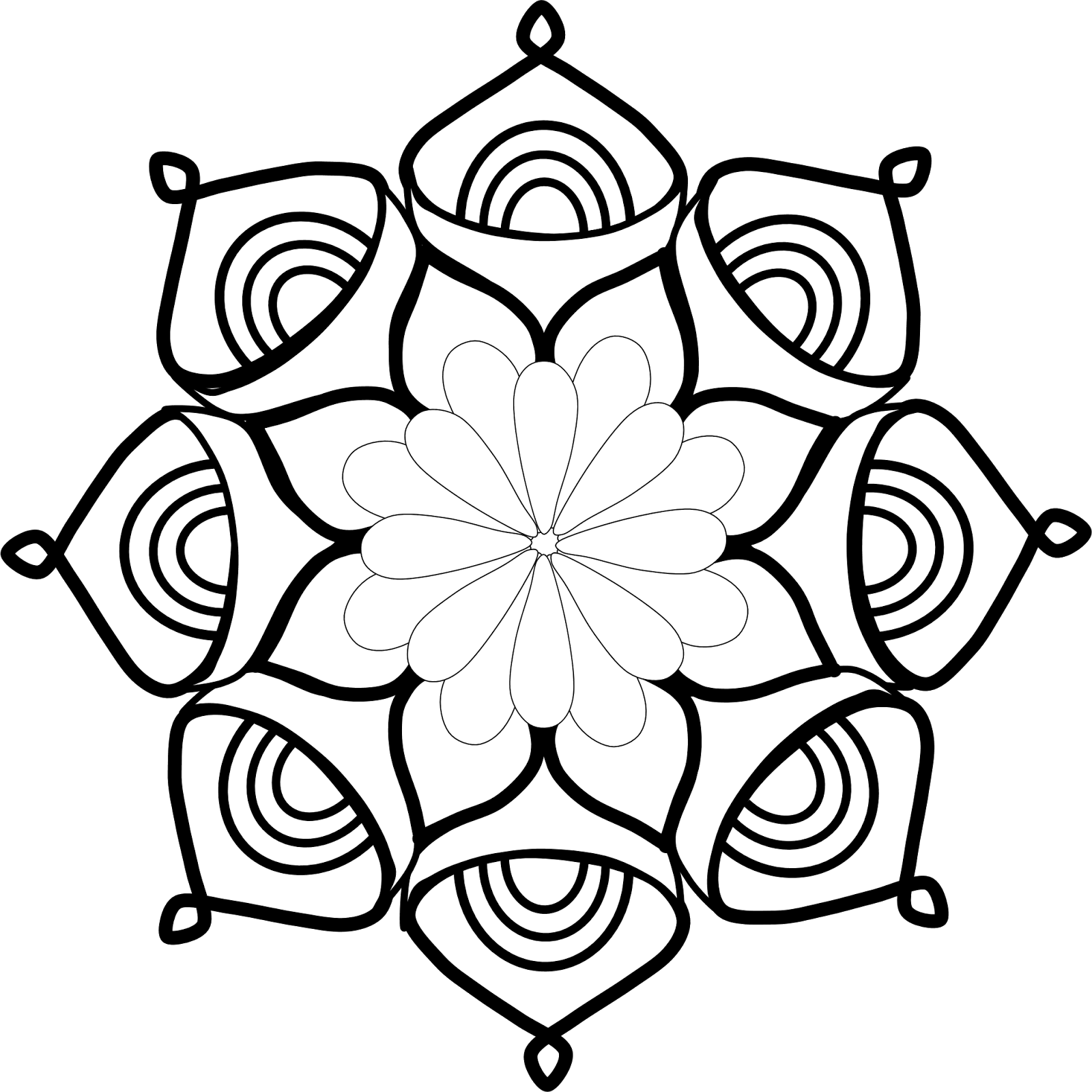 Mandala clipart.  collection of free