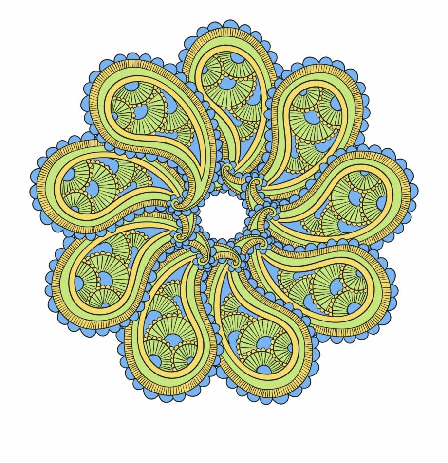Image png illustration transparent. Mandala clipart big