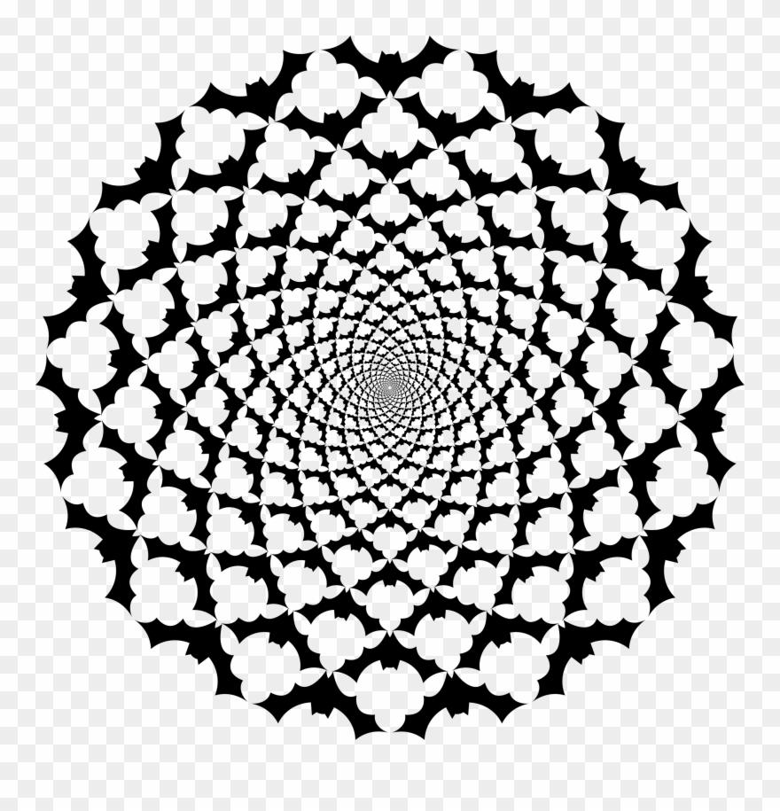 Mandala clipart big. Image beginner easy designs