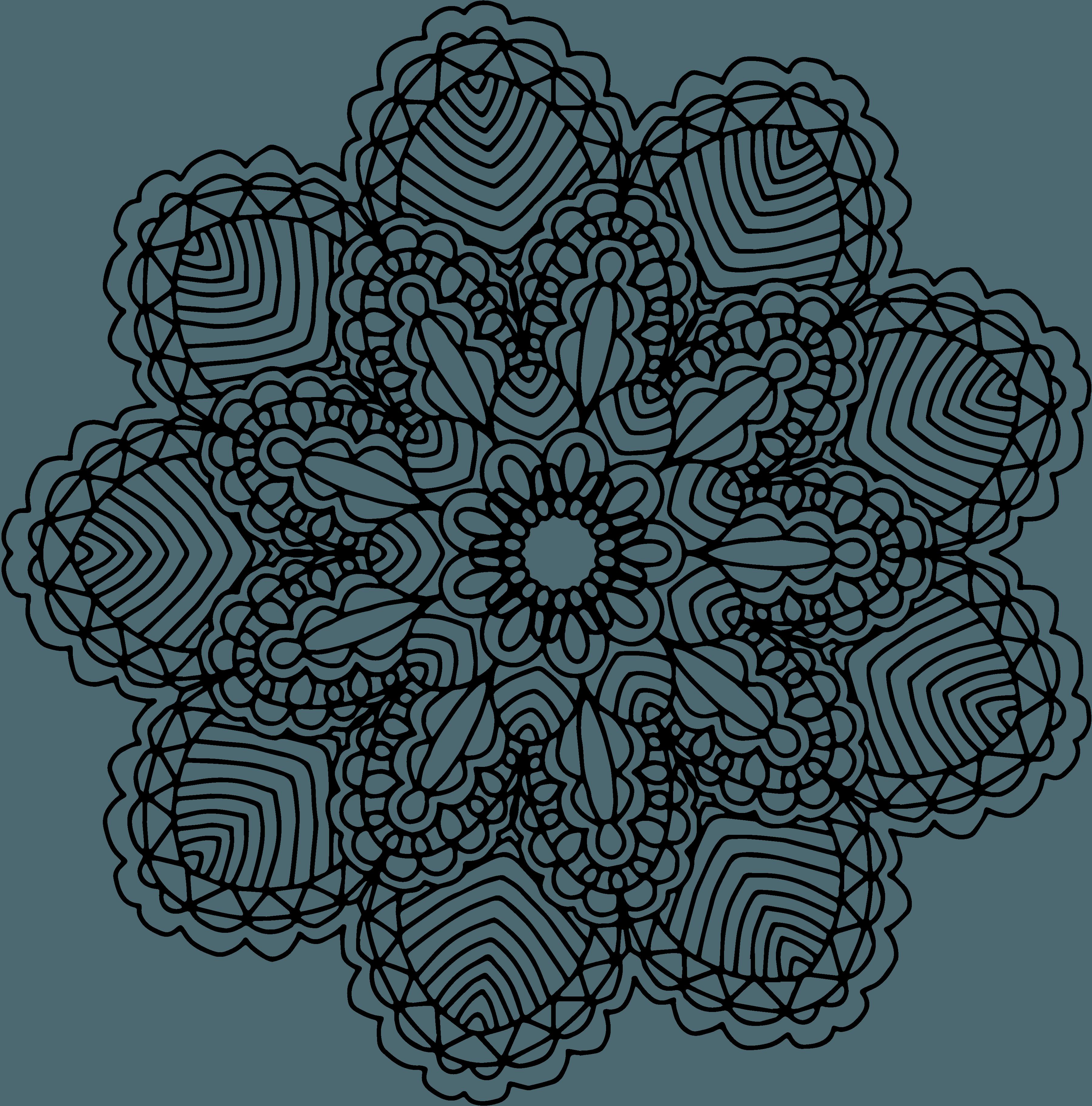 Free graphics two hand. Mandala vector png