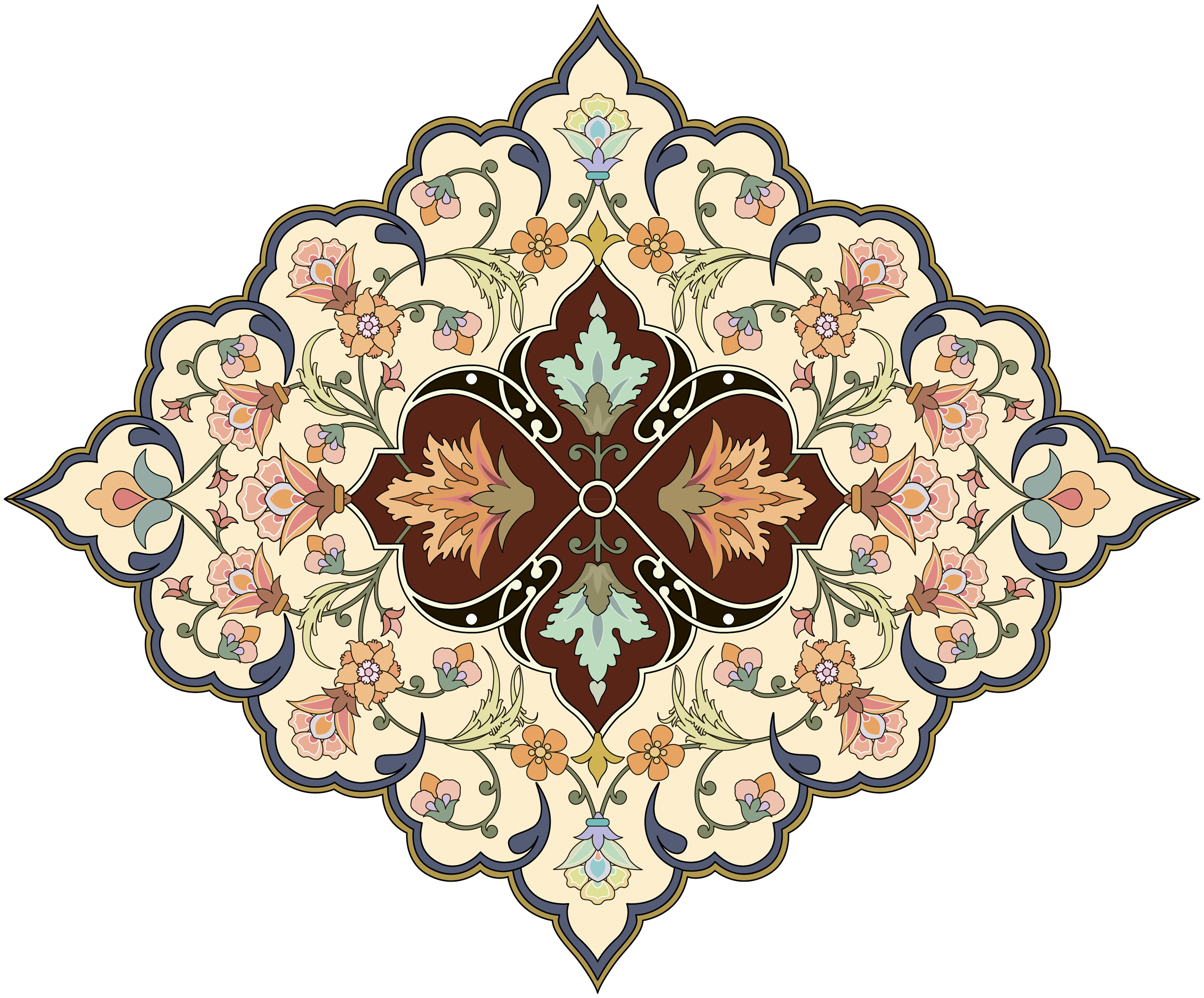 Arabesko ru png ornamentation. Paisley clipart persian