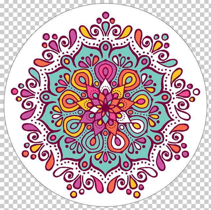 Coloring book png art. Mandala clipart rangoli