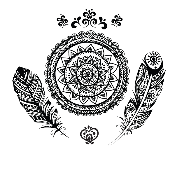 Tattoos png transparent images. Wolf clipart mandala
