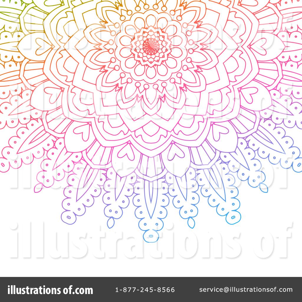 Mandala clipart stock. Illustration by kj pargeter