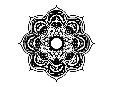Mandalas pinterest mandalavectorpng . Mandala vector png