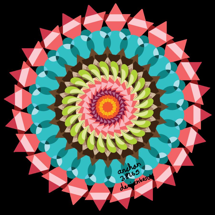 Mandala vector png. By anchan on deviantart