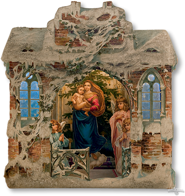 Nativity clipart magi. Pop up advent book