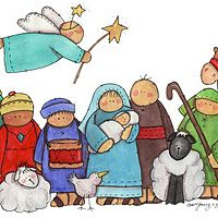 Nativity clipart children's.  best drawings images