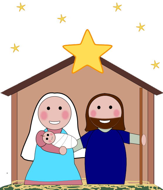 Nativity clipart simple.  collection of free