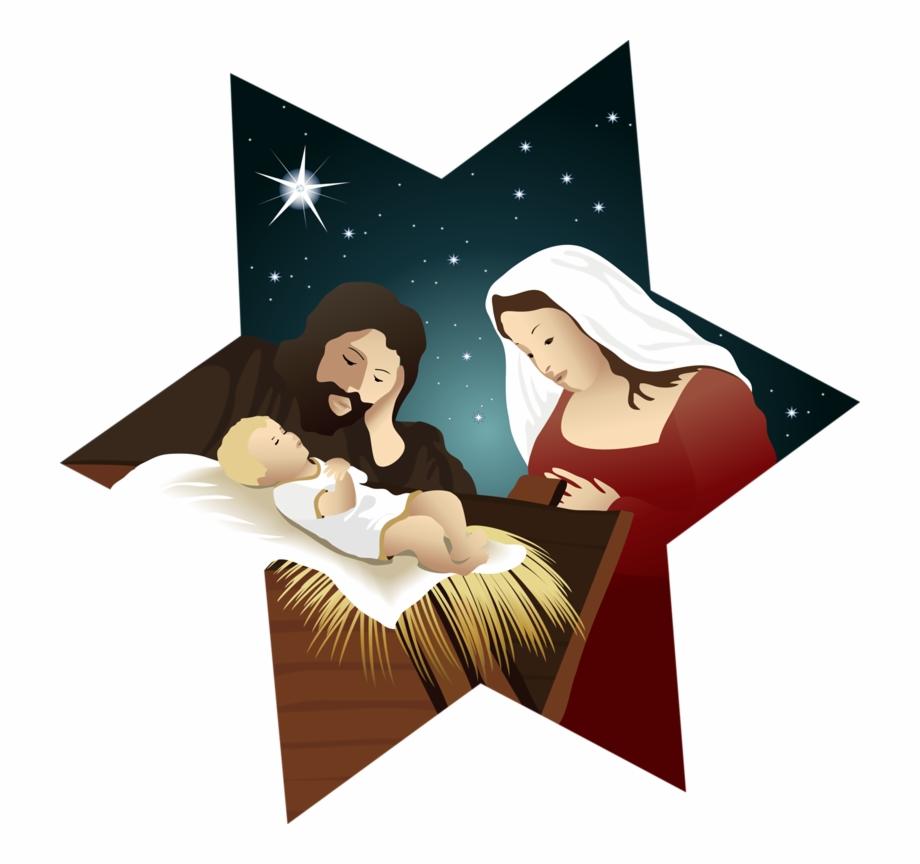 Nativity clipart epiphany. Christmas star clip art