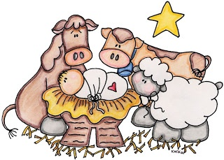 Free nativity cliparts download. Manger clipart cute