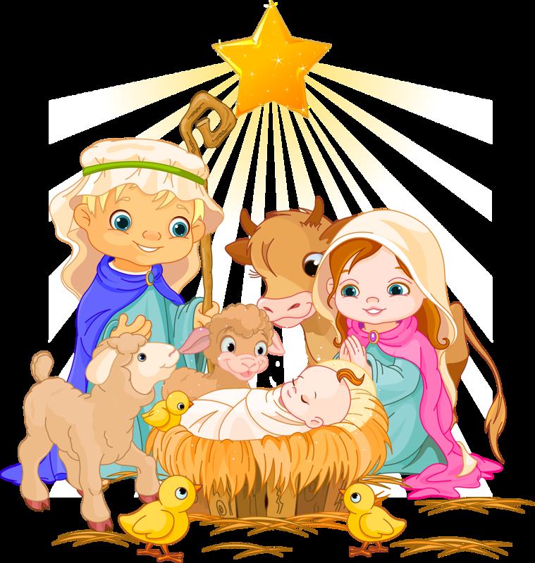 png clip art. Manger clipart holy family