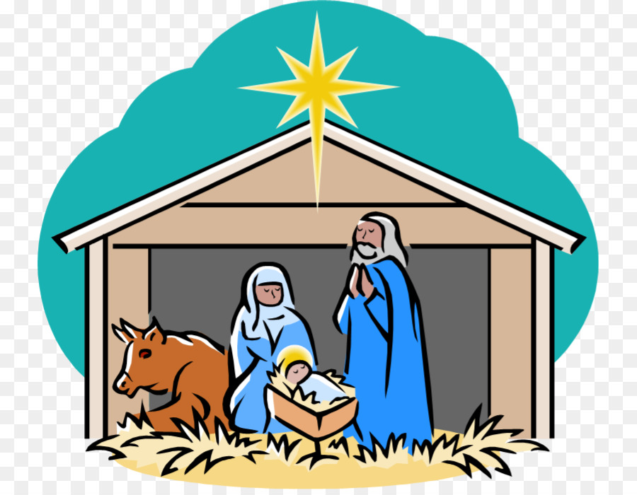 Manger clipart holy family. Christmas png download free