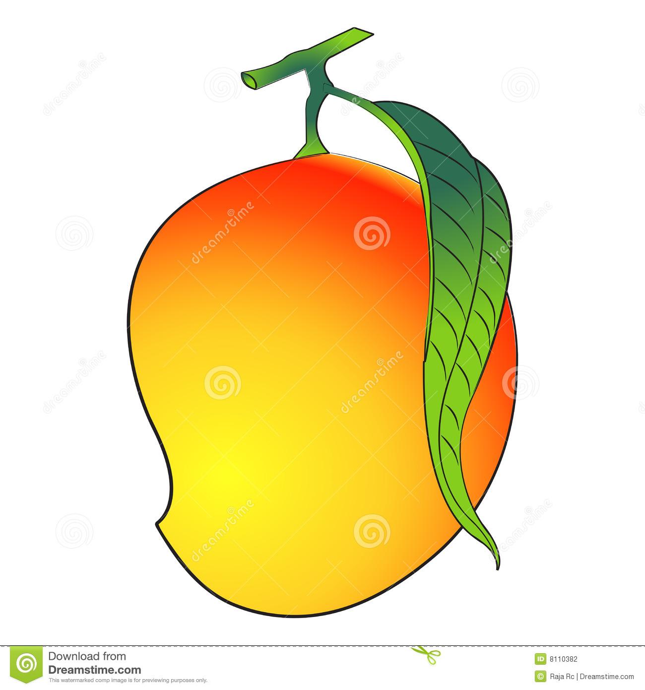 . Mango clipart