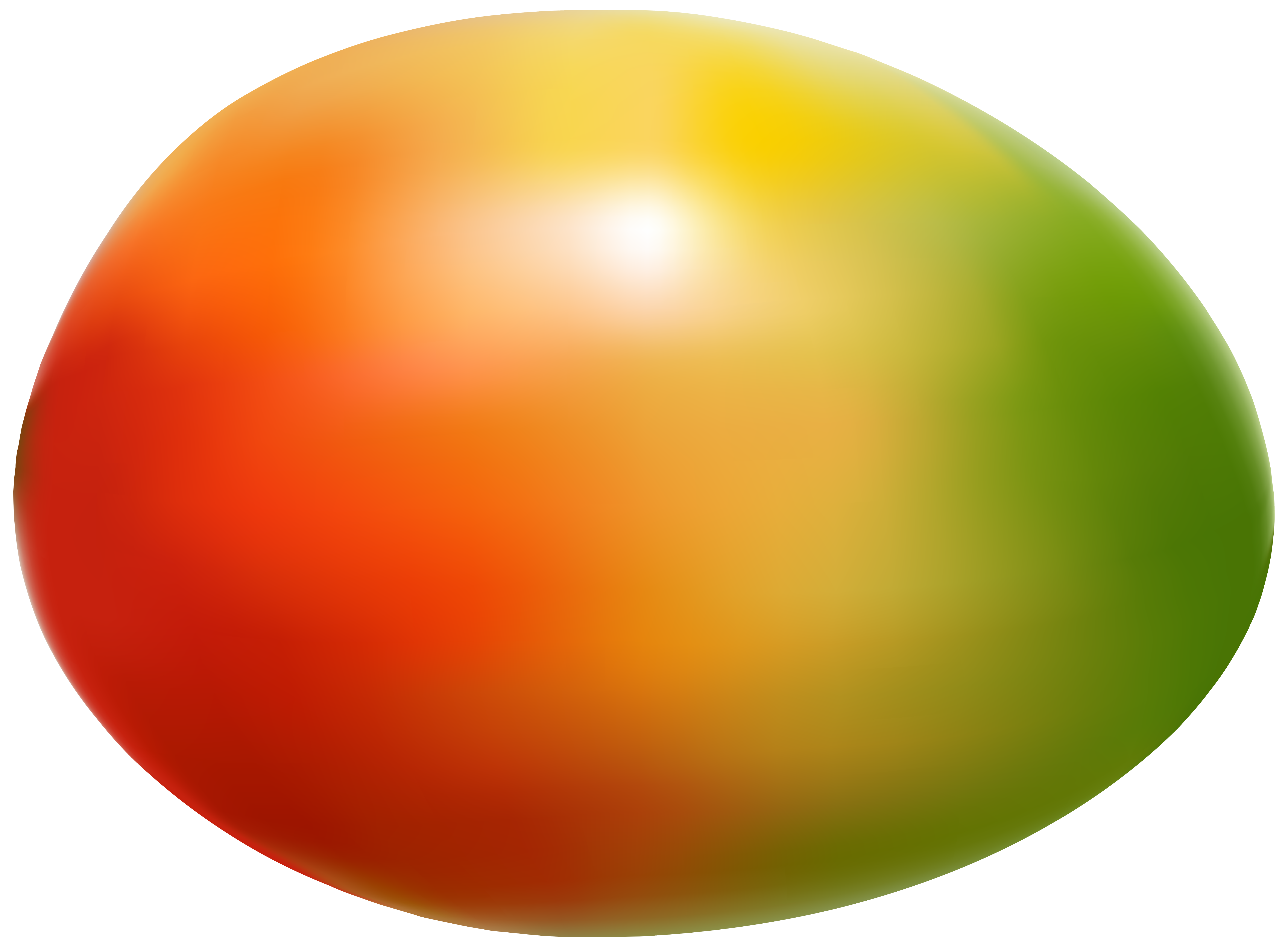 Mango free png clip. Circle clipart fruit