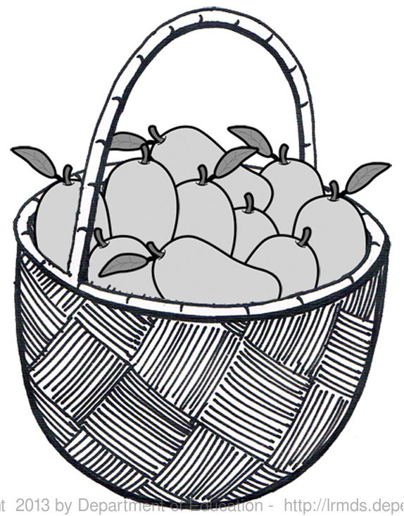mango clipart basket mango #126521065