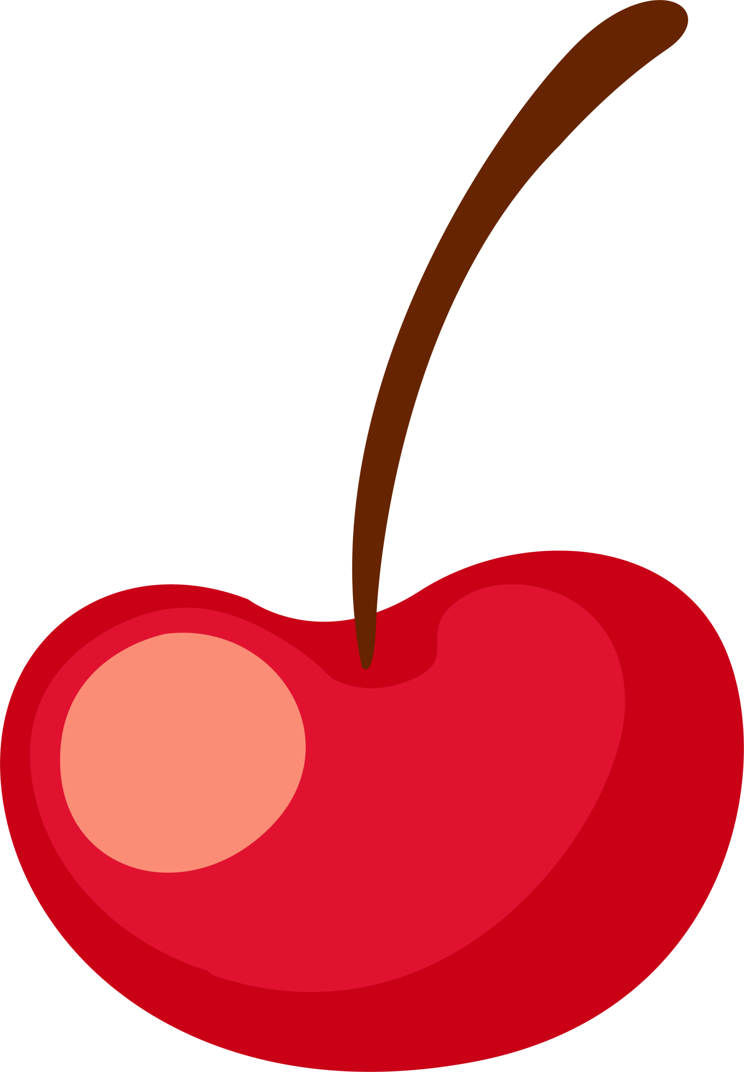 Mango clipart cherry. Fruit cartoon clip art