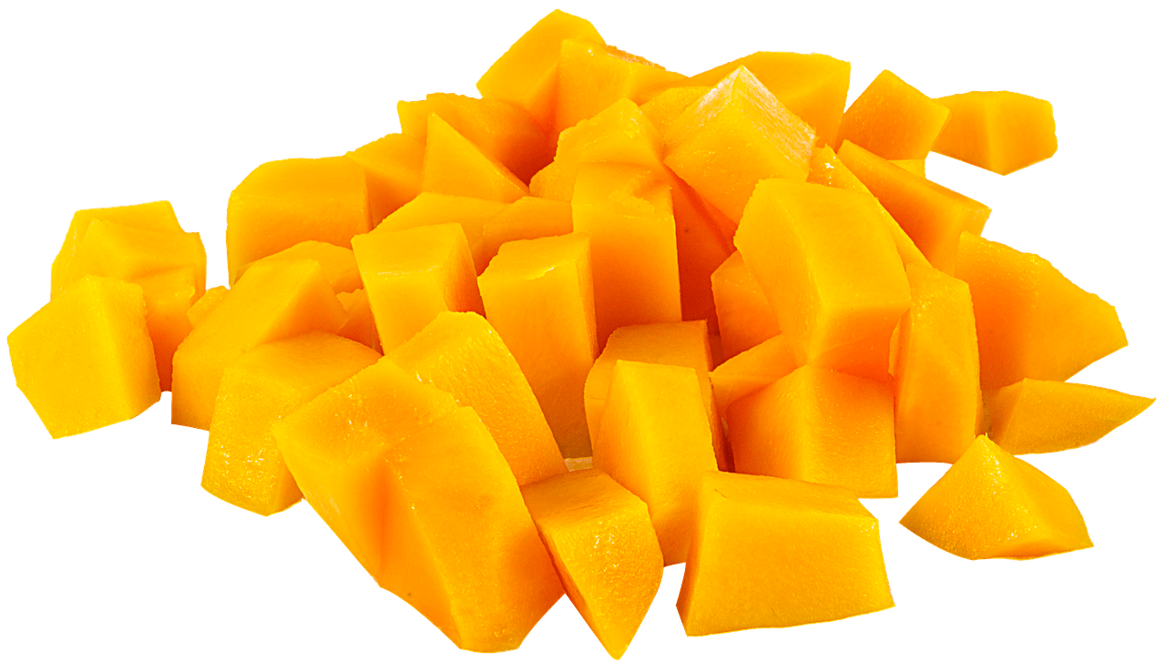 Fruit Mango In Pieces transparent PNG