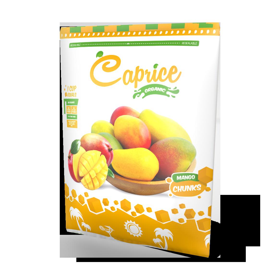 Caprice organic s ceviche. Mango clipart individual fruit