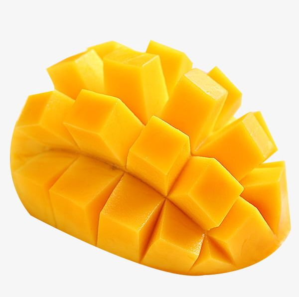 A sliced png delicious. Mango clipart mango slice