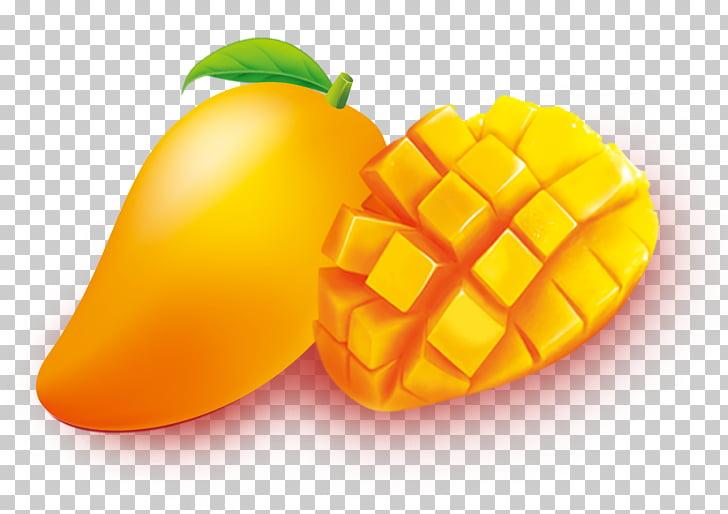 Mango clipart mango slice. Tea fruit of png