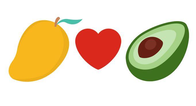 It s avocado day. Mango clipart national