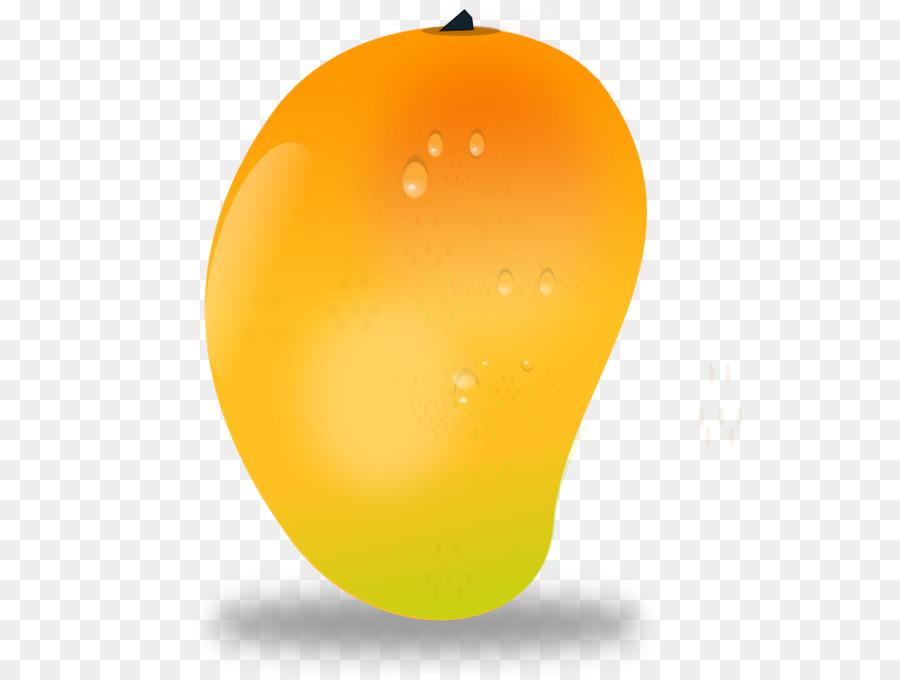 Cartoon fruit transparent . Mango clipart orange