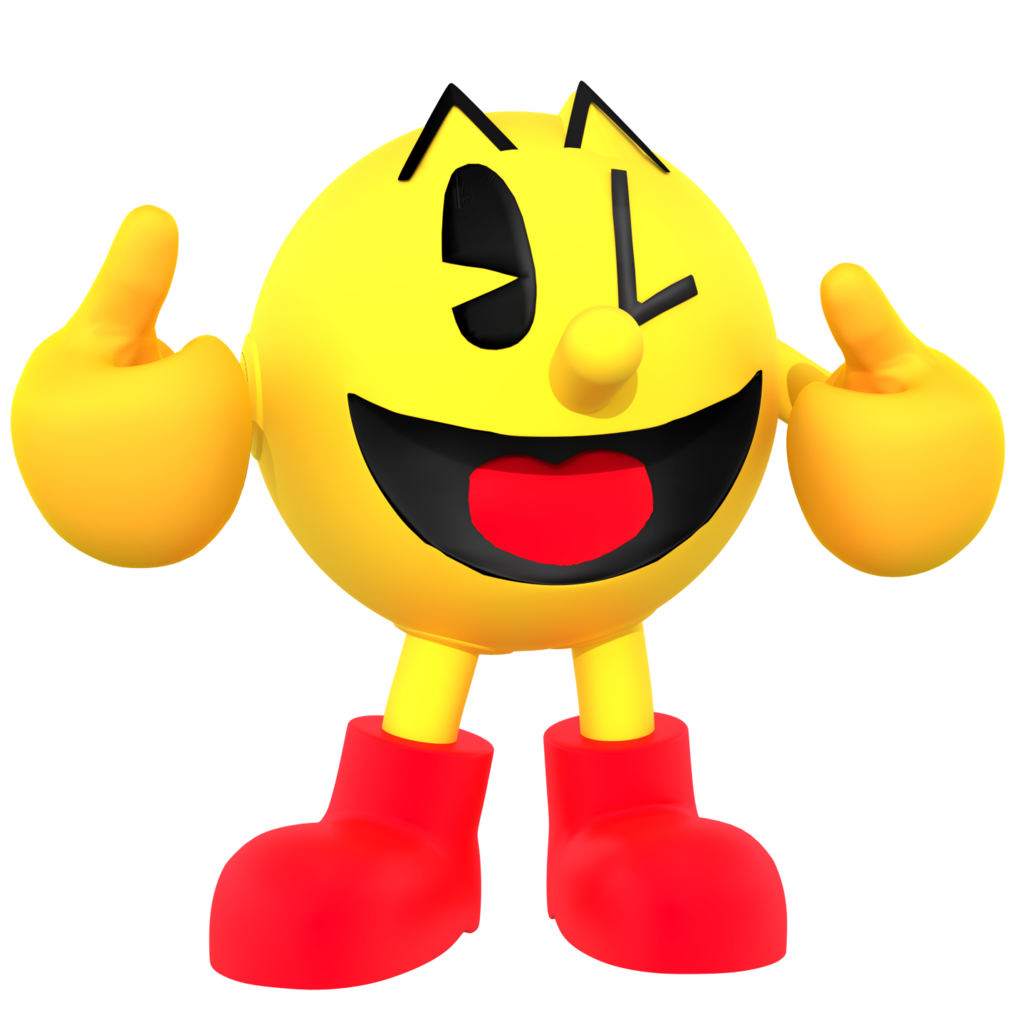 Mango clipart pac man. World party attack the