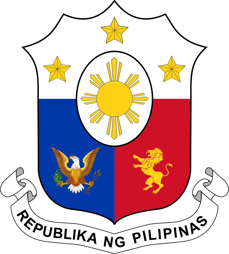 File coat of arms. Mango clipart philippine symbol