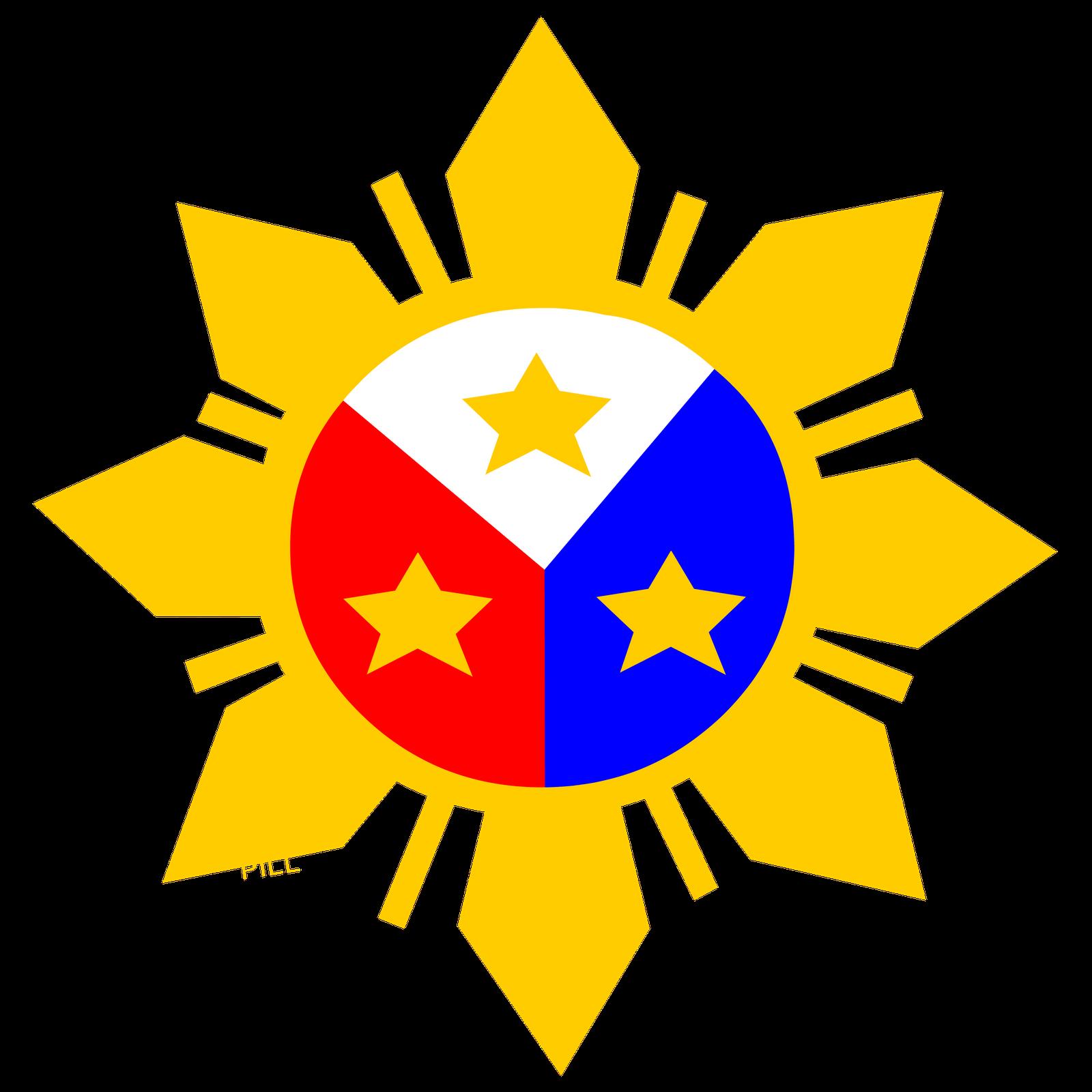 Flag of the philippines. Mango clipart philippine symbol