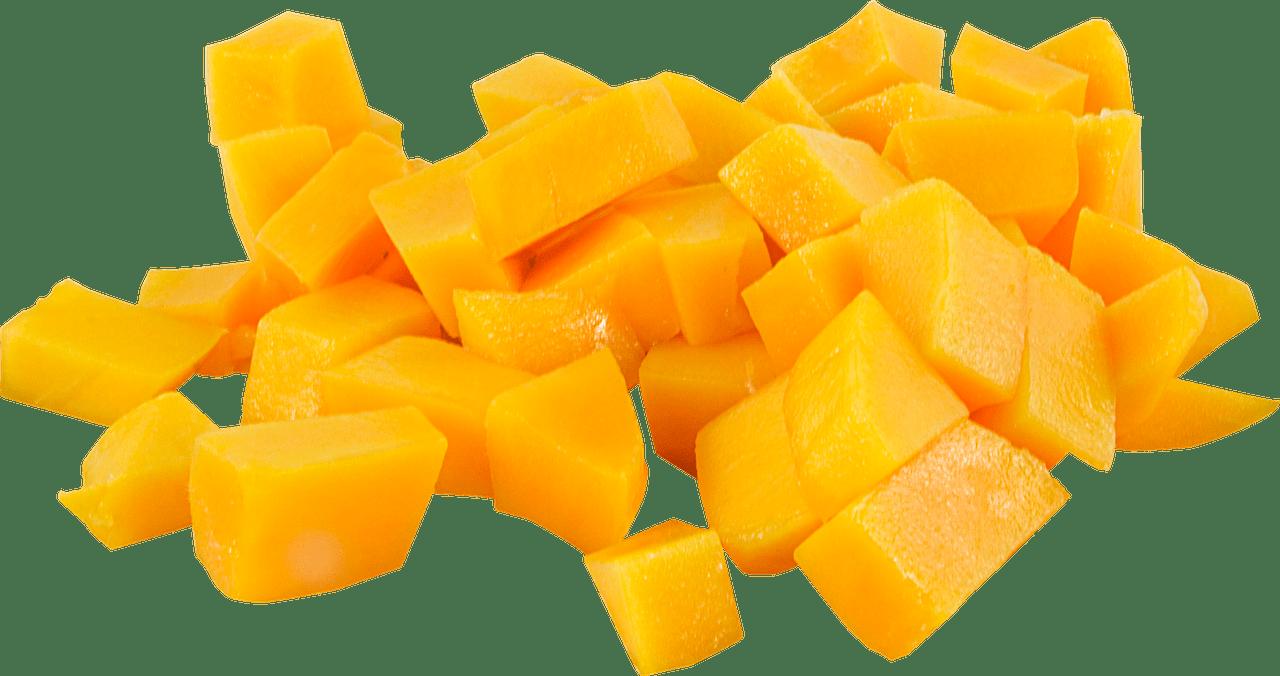 Cut up transparent png. Mango clipart pieces