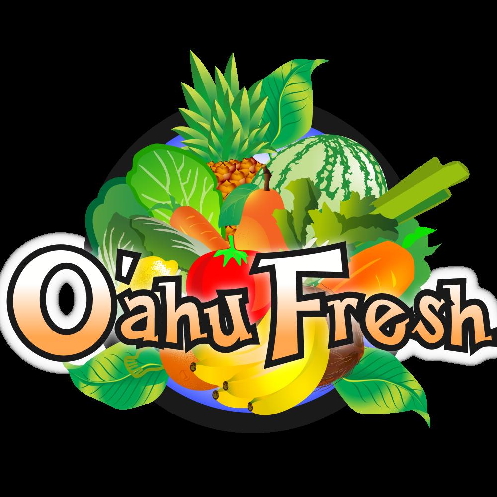 Mango clipart pineapple hawaii. Oahu fresh oahufresh twitter