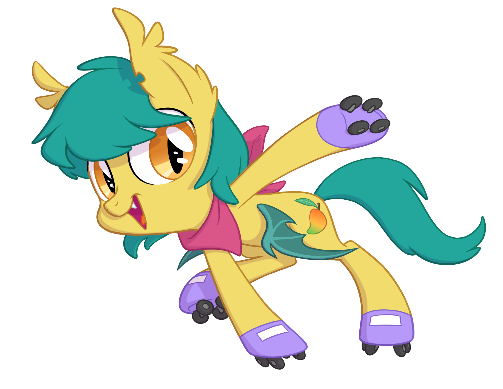 Mango clipart pony. Punch batponies wiki fandom