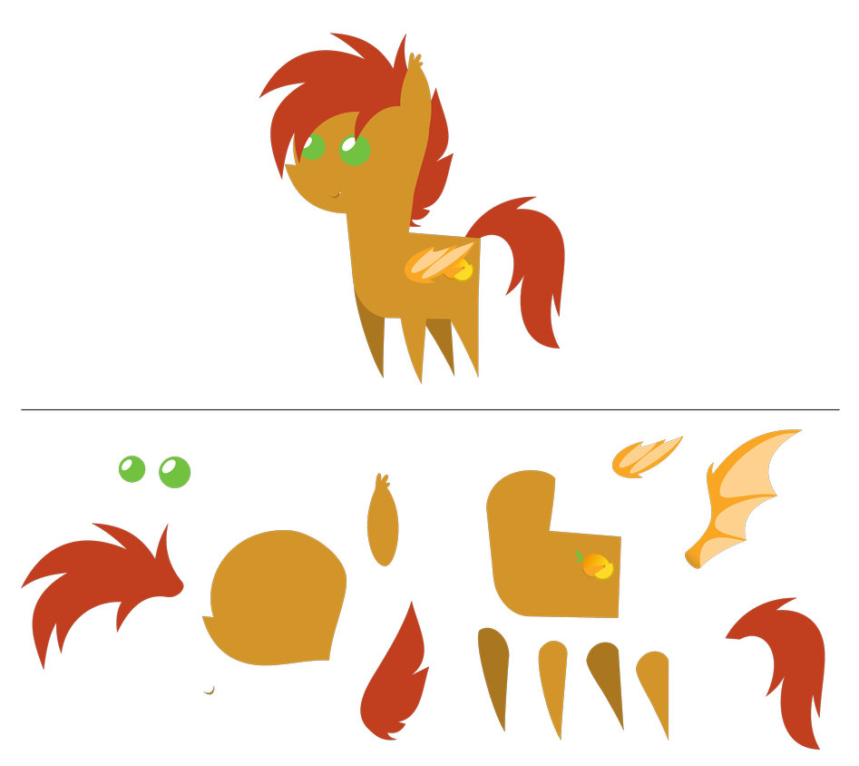 Slice pointy com by. Mango clipart pony