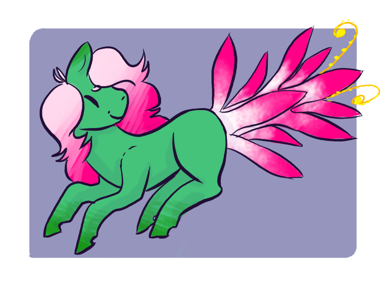 Flower adopt ota by. Mango clipart pony