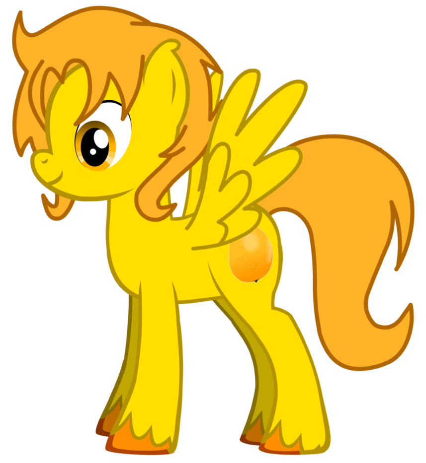 Mango clipart pony. By vainilla on deviantart