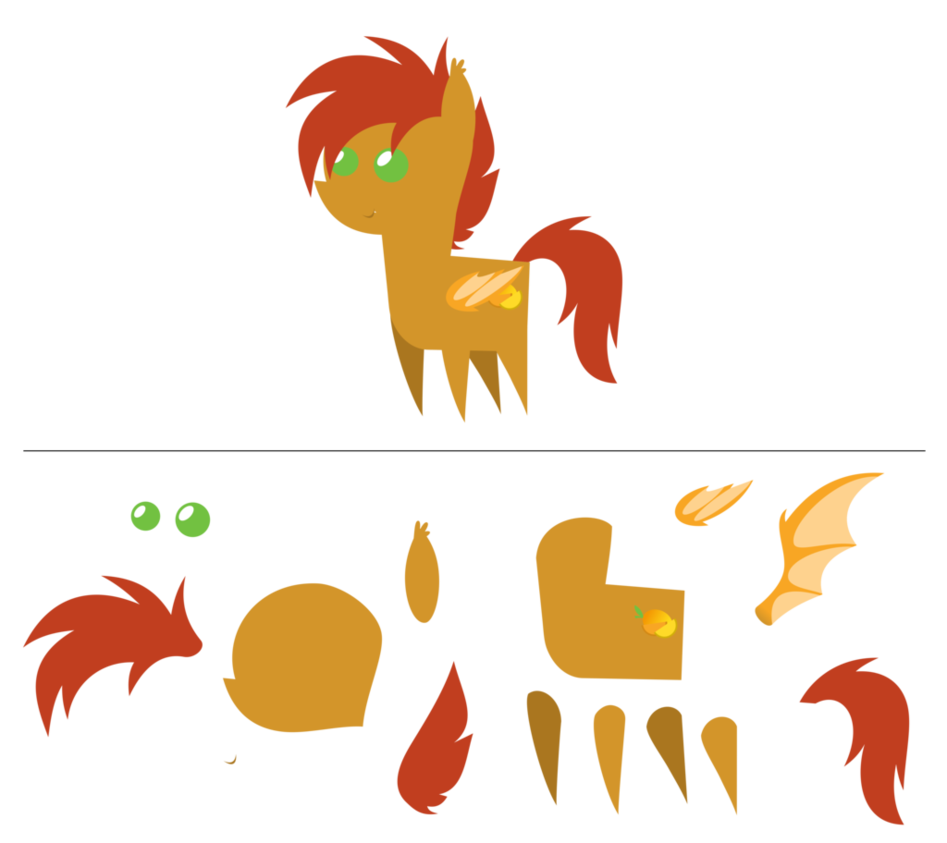 Mango clipart pony. Slice pointy com by