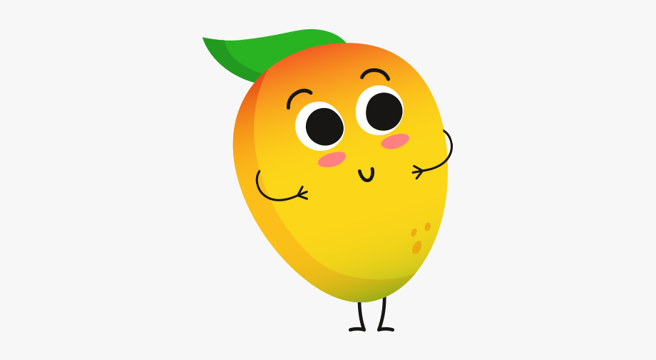 Mango clipart smiley. Free cliparts on
