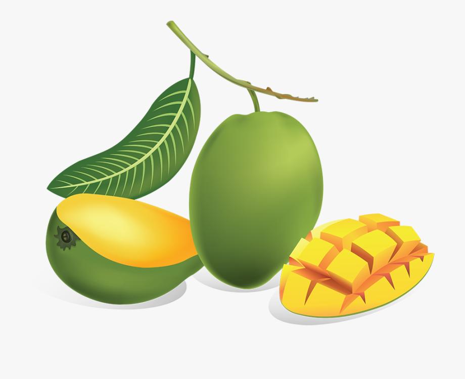 Clip art background images. Mango clipart unripe mango