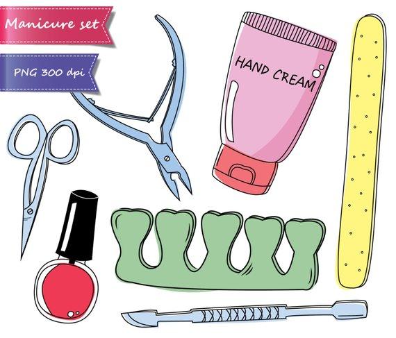 Manicure clipart.  off sale pedicure