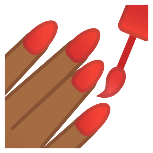 Manicure clipart.  google android oreo