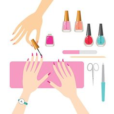Google search free printable. Manicure clipart