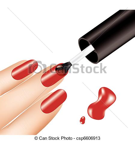 Manicure clipart. Panda free images nail
